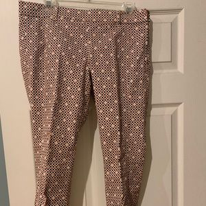 Tory Burch Kaine Straight Leg Pants